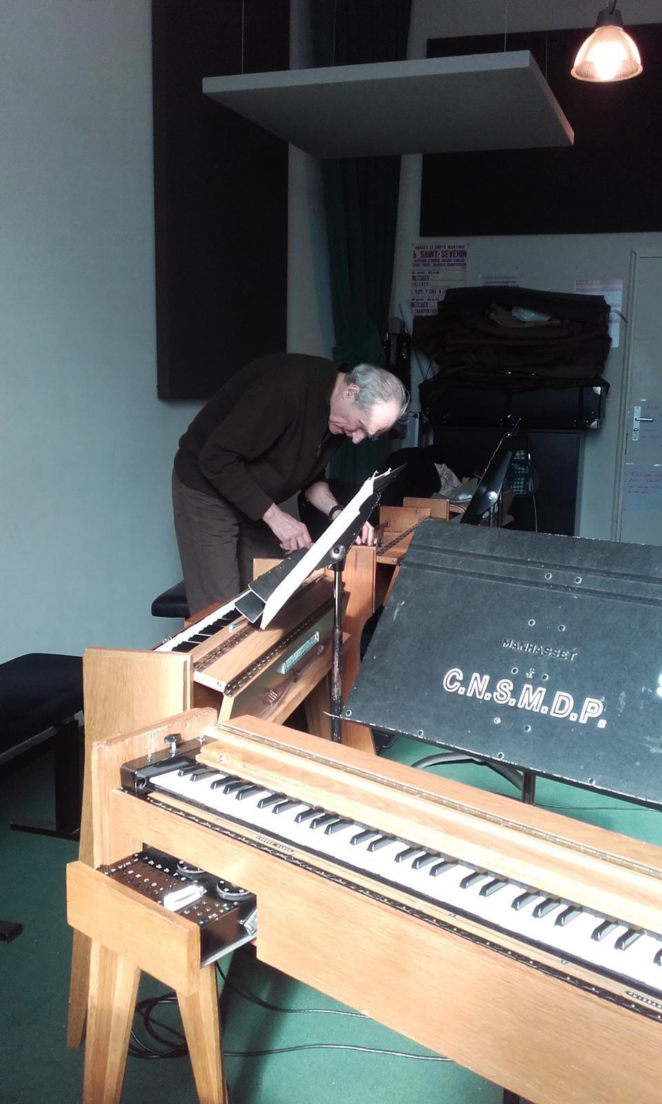 Jean-Loup Dierstein au Conservatoire national supérieur de musique et de danse de Paris