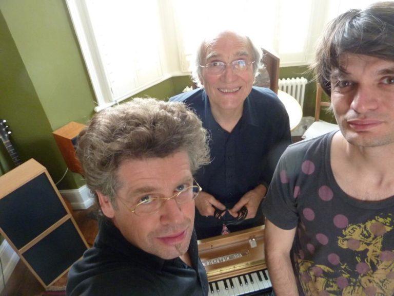 Thomas Bloch, Jean-Loup Diersten et Jonny Greenwood