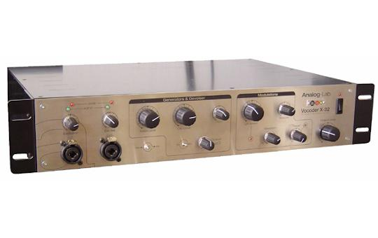 Analog Lab Vocoder X-32